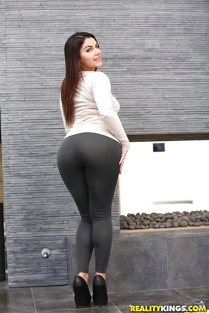 nude busty babes in tight yoga pants