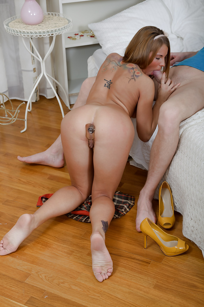 Tattooed Man Ass Fucked