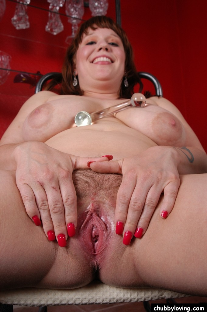 fat mom with big boobs spreading hairy vagina for toying and