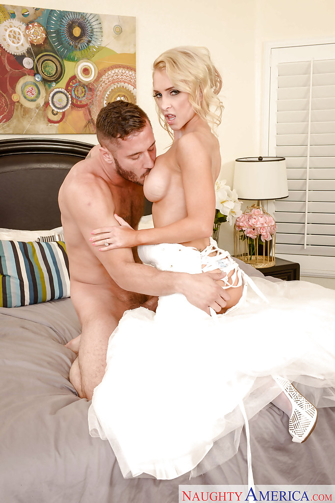 Bride wedding night fuck