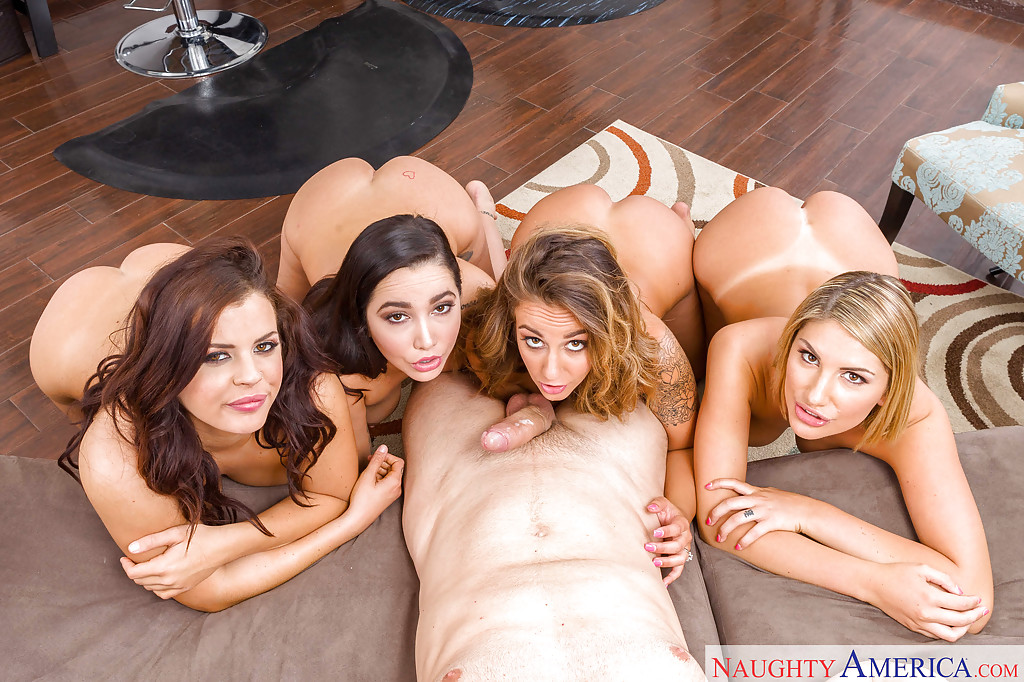 Amateur Rough Gang Bang