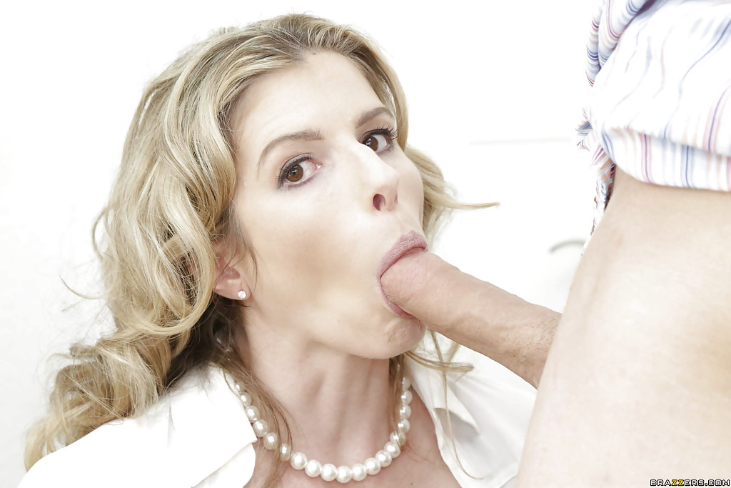 Milf bj and action