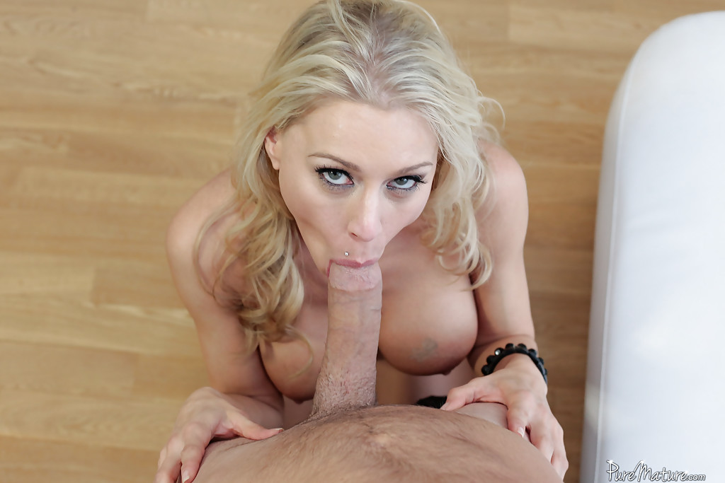 Blonde Pov Blowjob Eye Contact