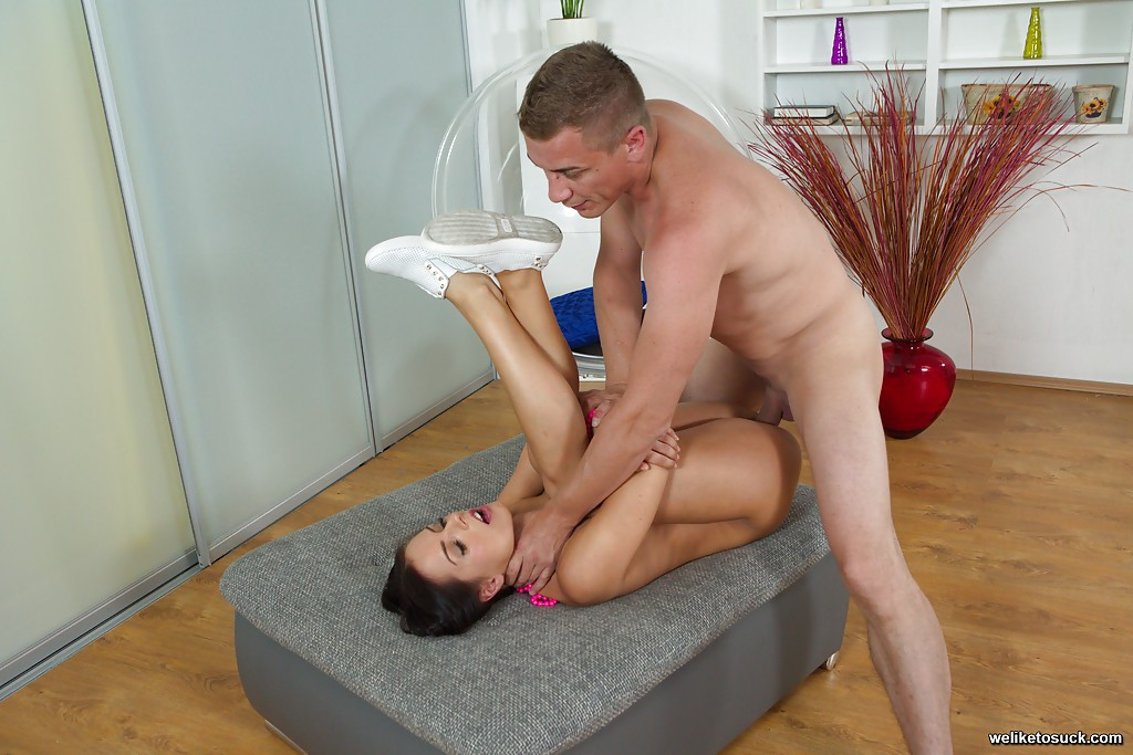 Huge Cock In Tiny Asshole
