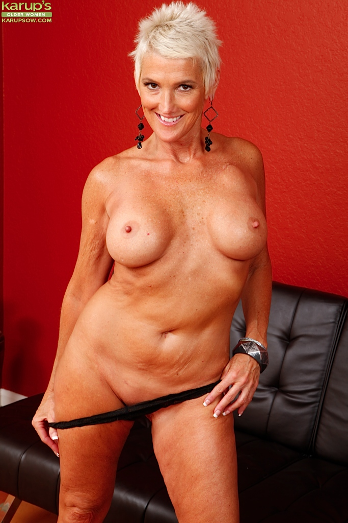 Gigantic mature breasts