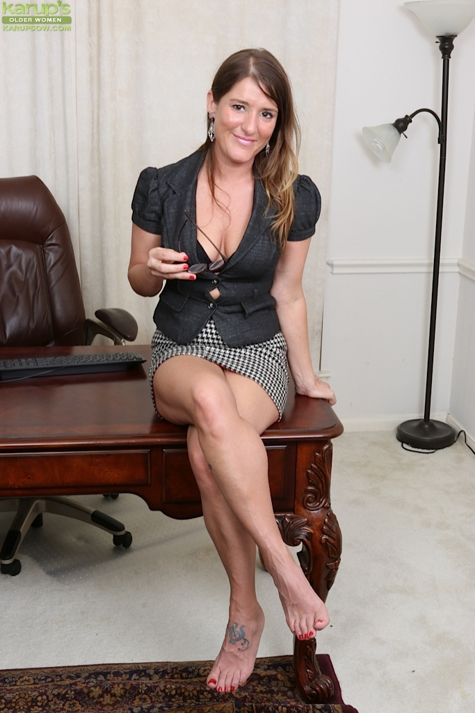 Remarkable, very naked mature office woman much