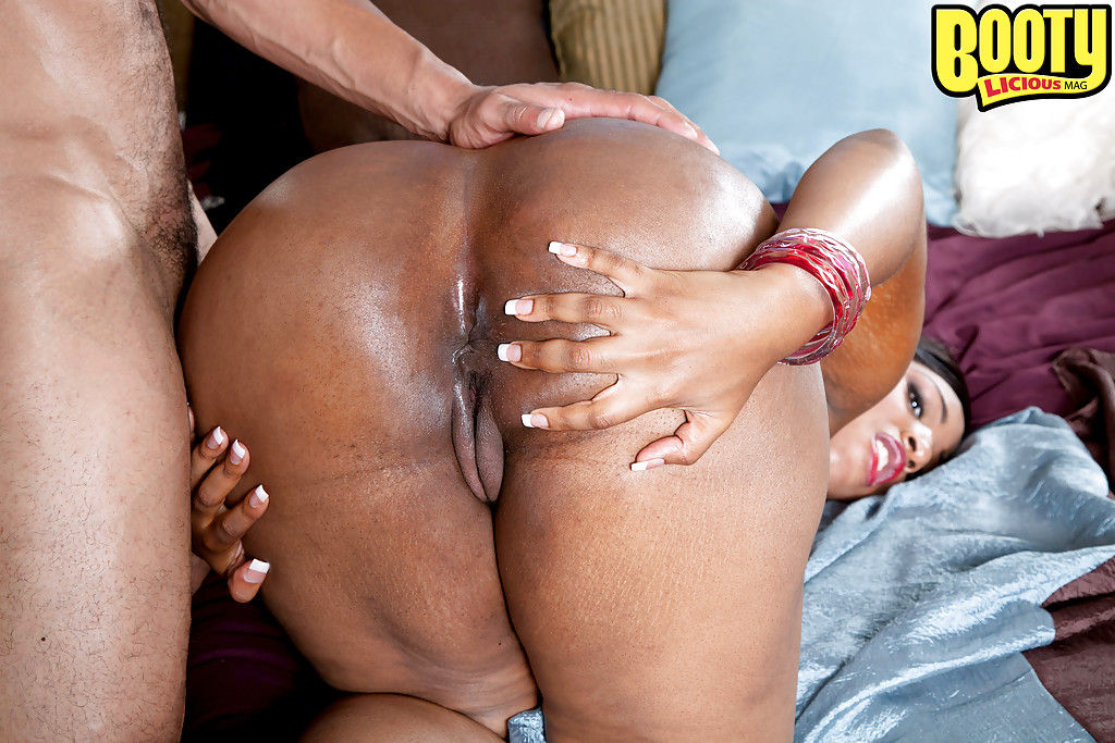 Fat black ass anal