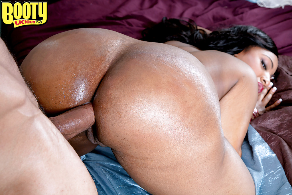 Big black ass anal sex