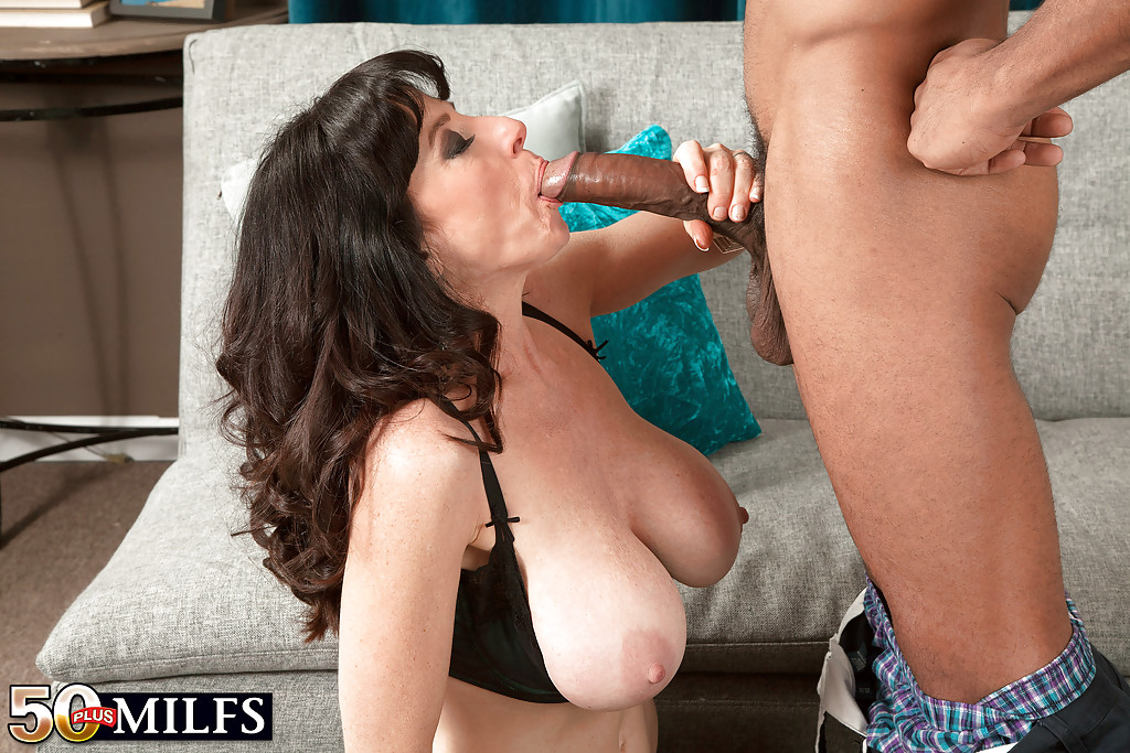 Milf mature interracial