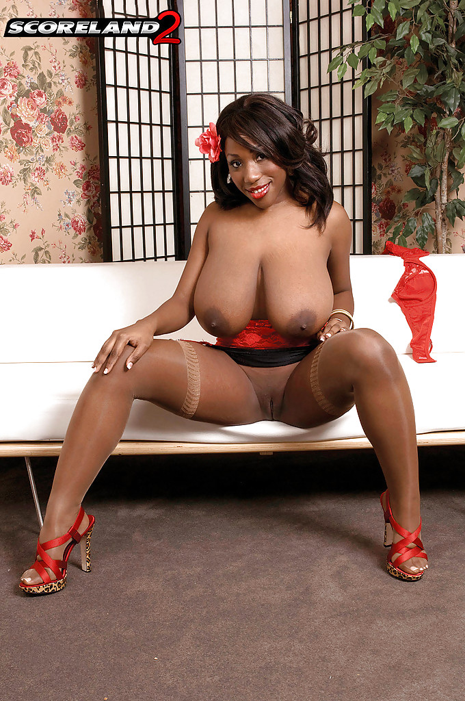 Big ebony mature