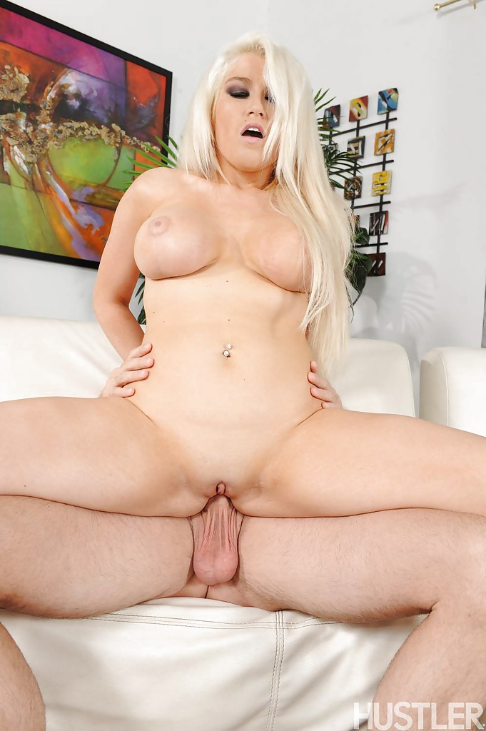 massive tits blonde fucks huge cock