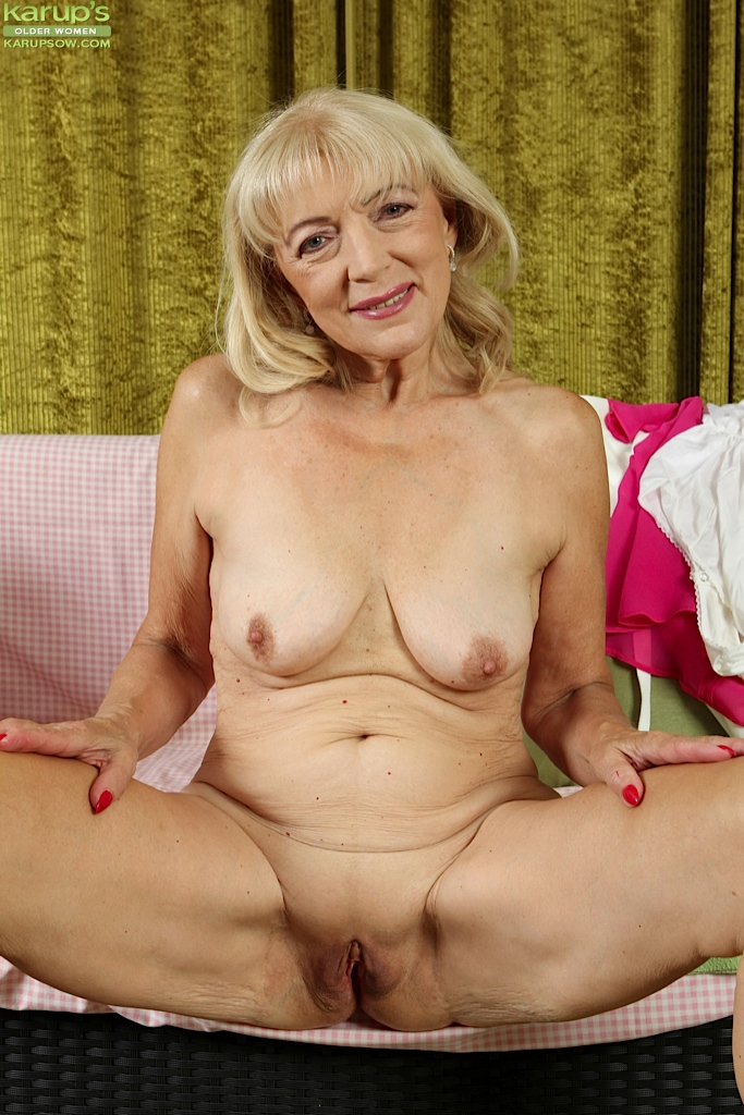 Masturbation, yum! Shaved granny porn isn't anyone more