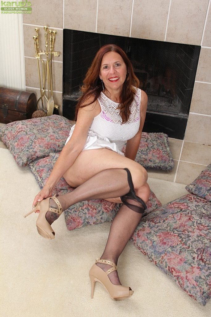 Mature women sex in stockings and panty hose think, that