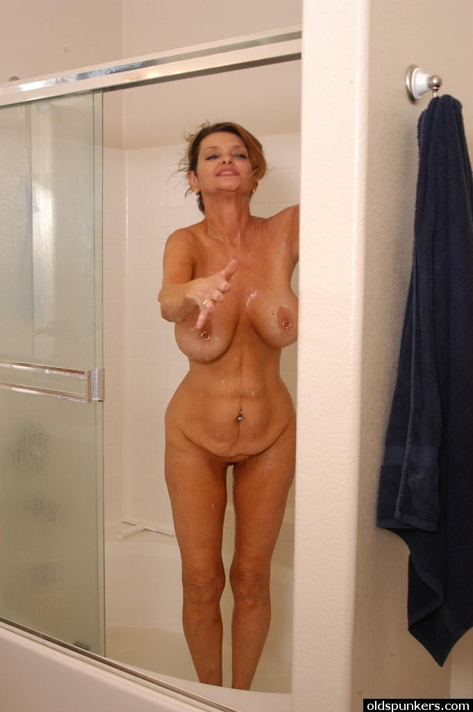 Sounds naked boobs in shower