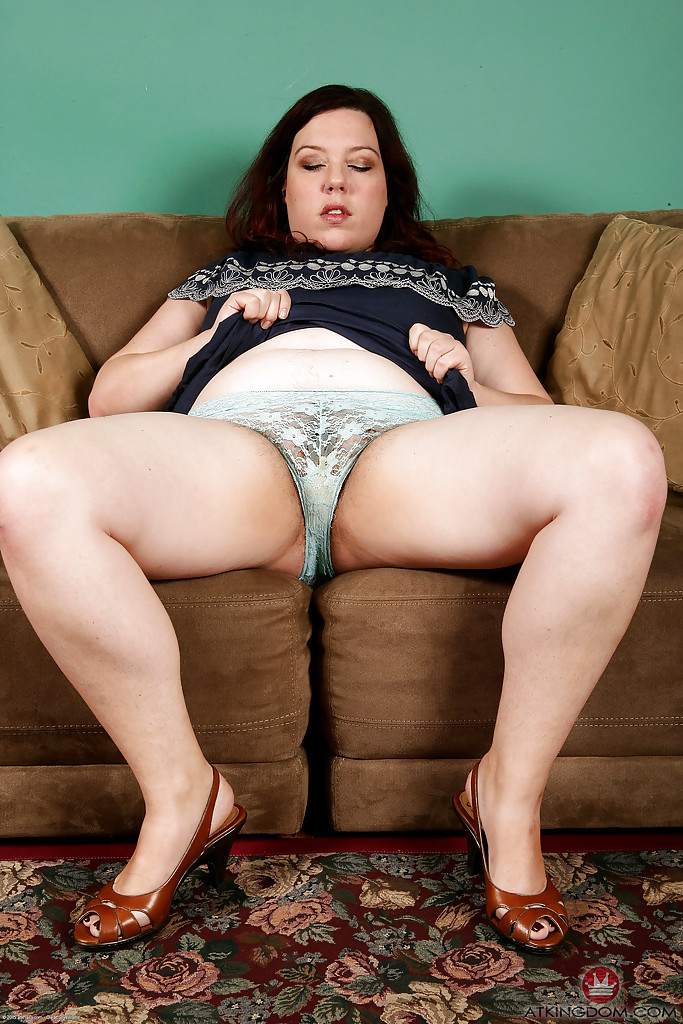 Fat upskirt and panties