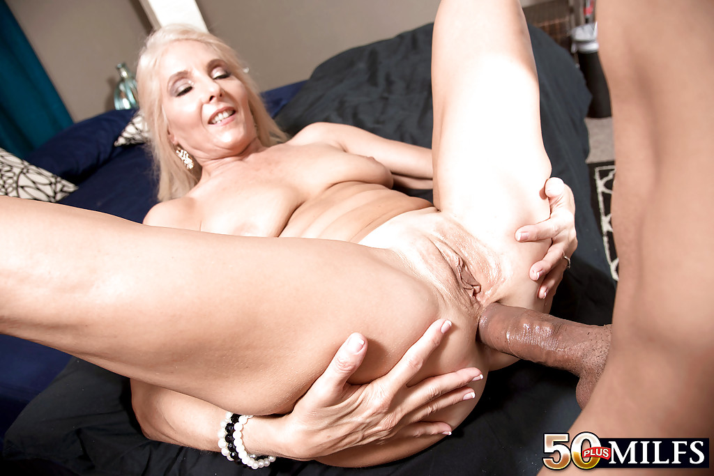 Milf getting fucking young men