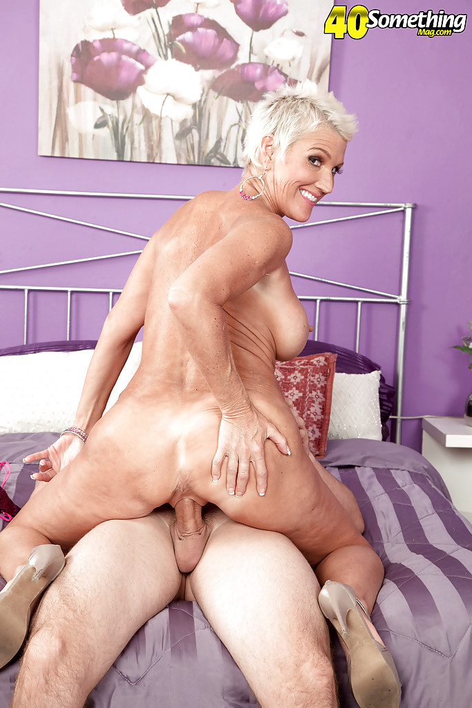 Something busty short haired blonde having sex the excellent