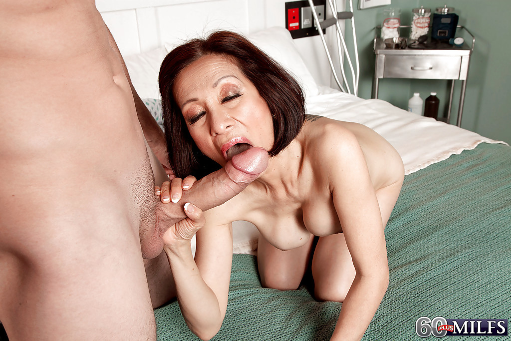 60 asian fucked hard by young guy 7