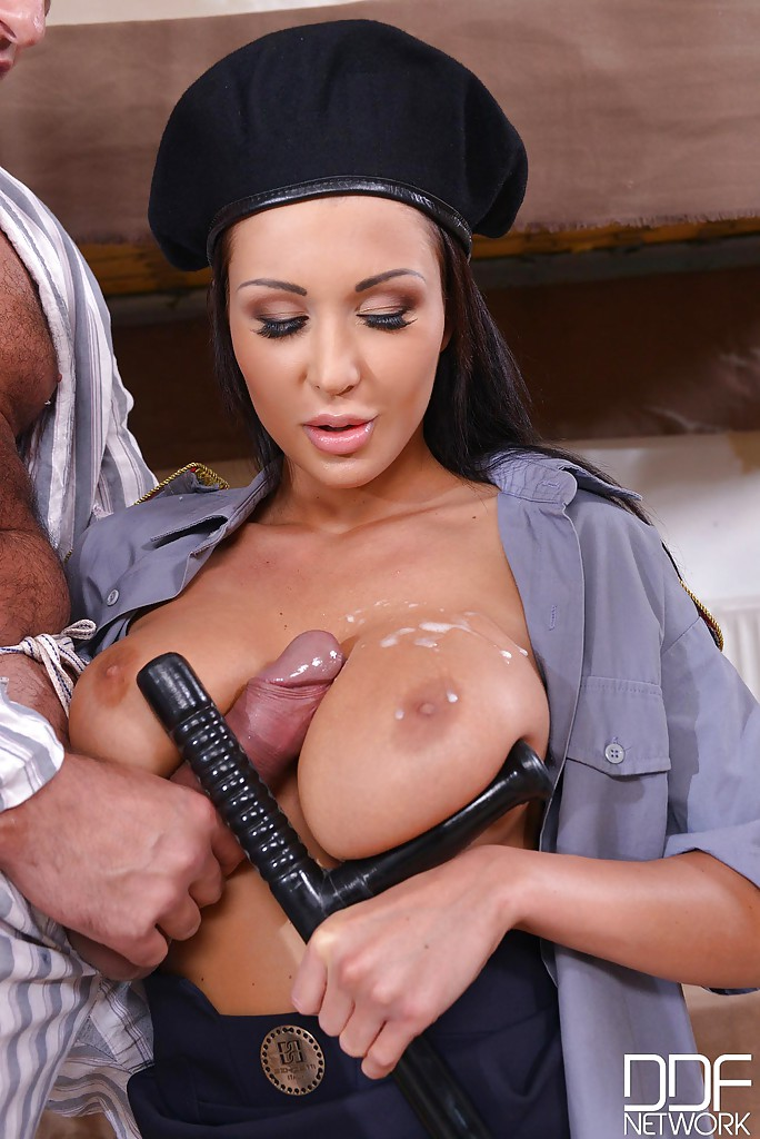 Busty guard patty michova gets nailed by inmate - 1 part 4