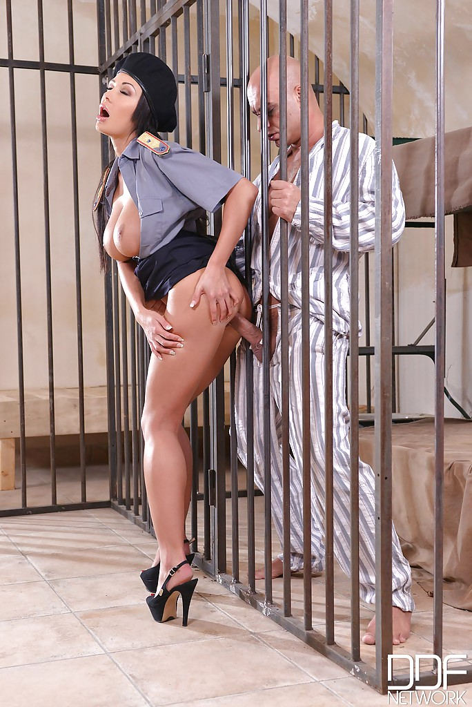 Cop and inmate busty latin floozie 2