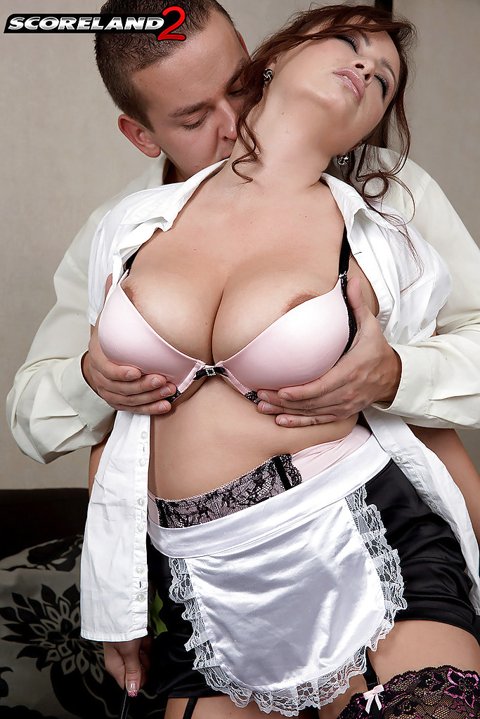 Amusing Sex with maid remarkable, rather
