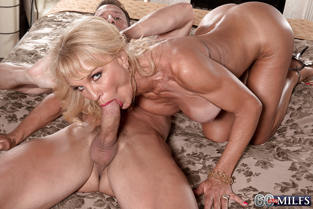 Mature blonde fucked hard