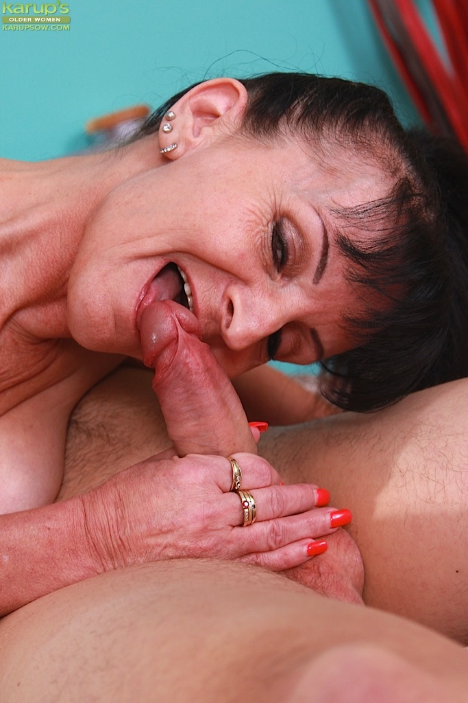 Mature woman deep throat all had