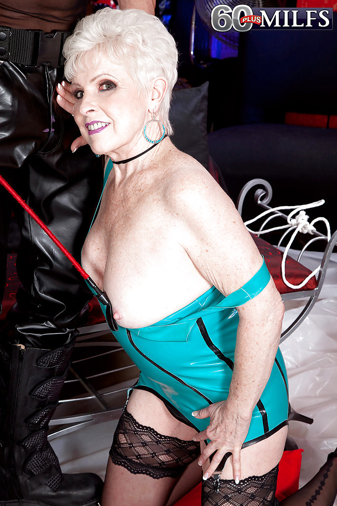 sex granny bdsm latex