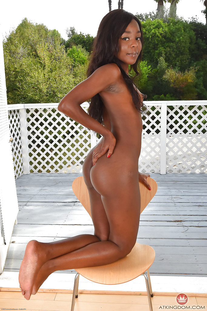Black naked ass