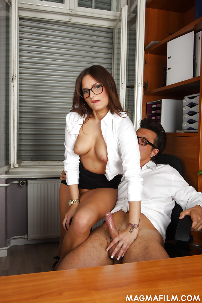 Glasses movies milf holly