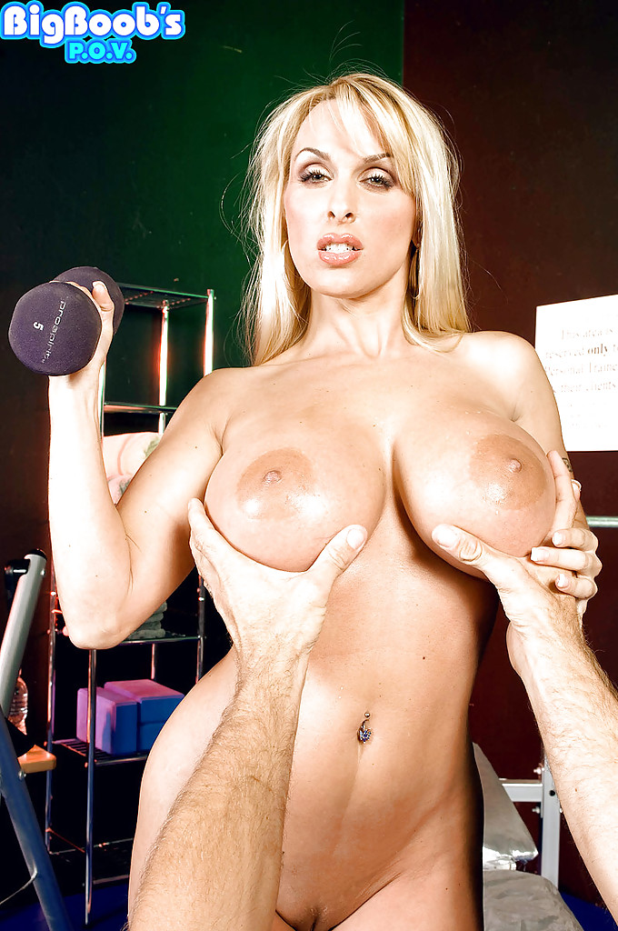 Everything, that Blonde milf working out pity