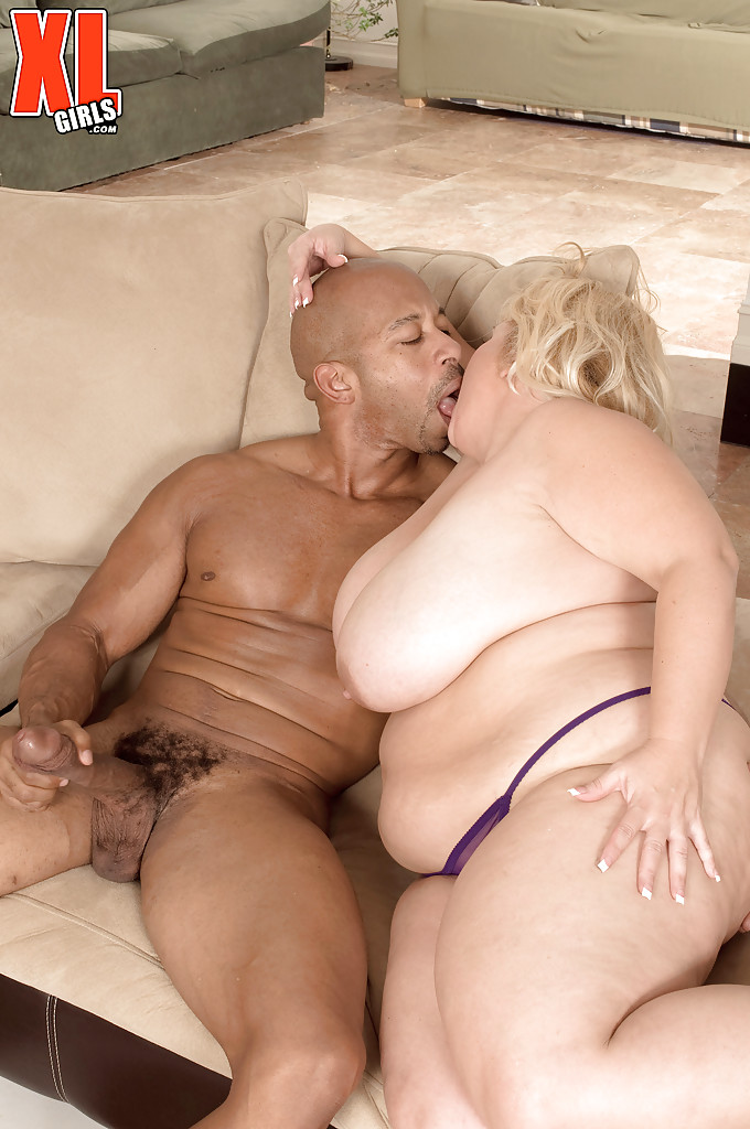 big titted blonde interracial sex