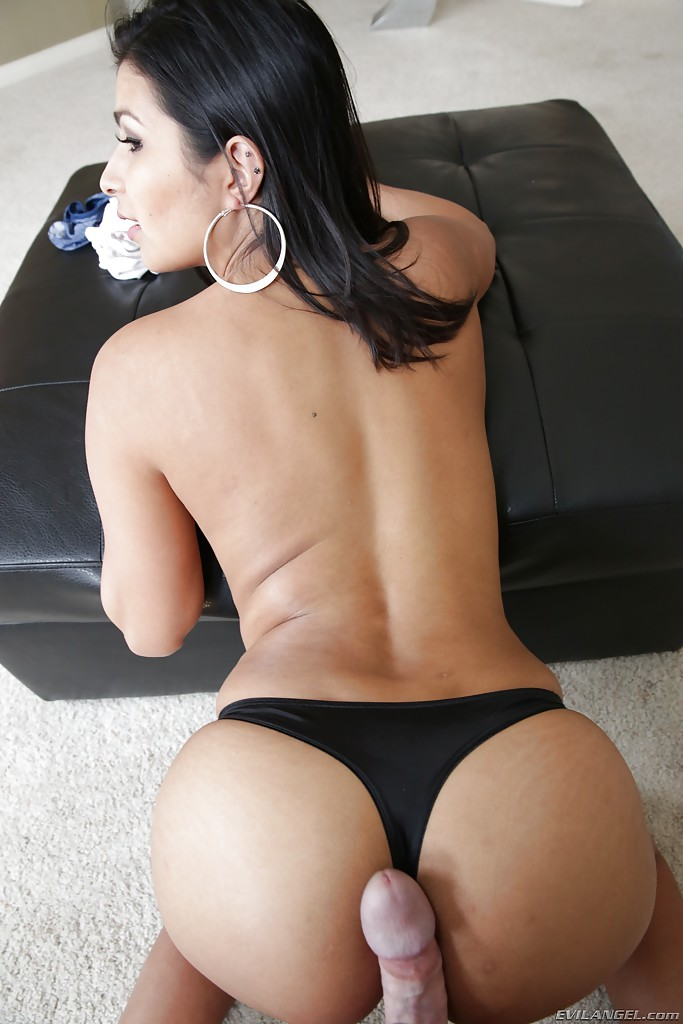 Latina sex with pantys on