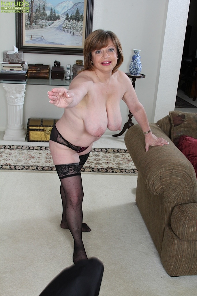 Older Woman With Big Breast