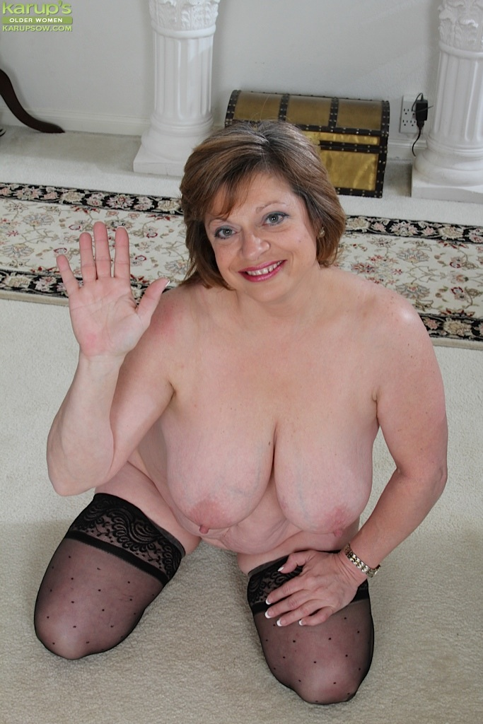 thick mature woman