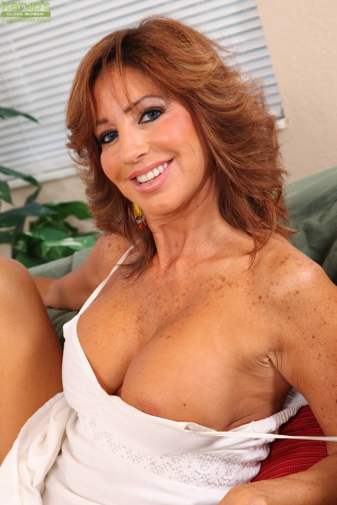 Sexy older women big tits