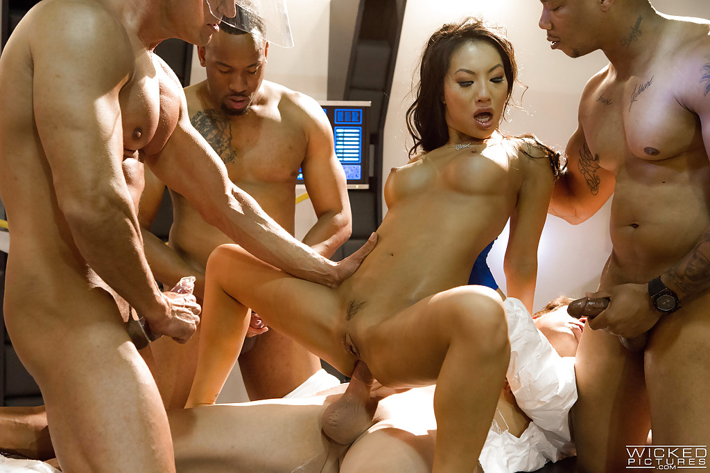 Asian anal cream pie