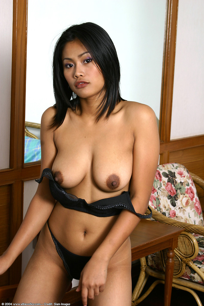 Tight asian huge tits
