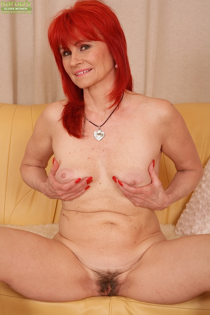 Mature redhead masterbating phrase opinion