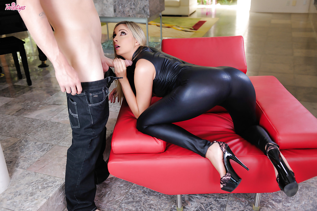 Watch leather sex