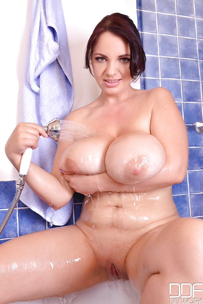Shaved chubby shower videos