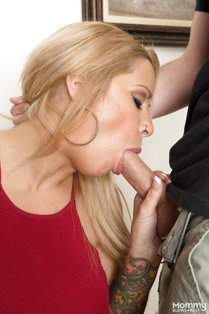 Lauren too blonde giving deepthroat want girl with