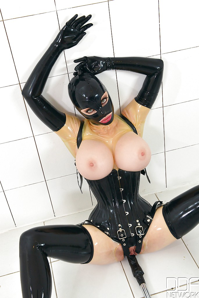 Think, that tits and latex