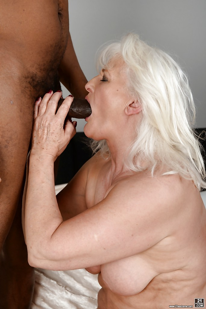 Granny has monster cock