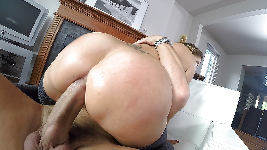 Wife fuck husband in ass