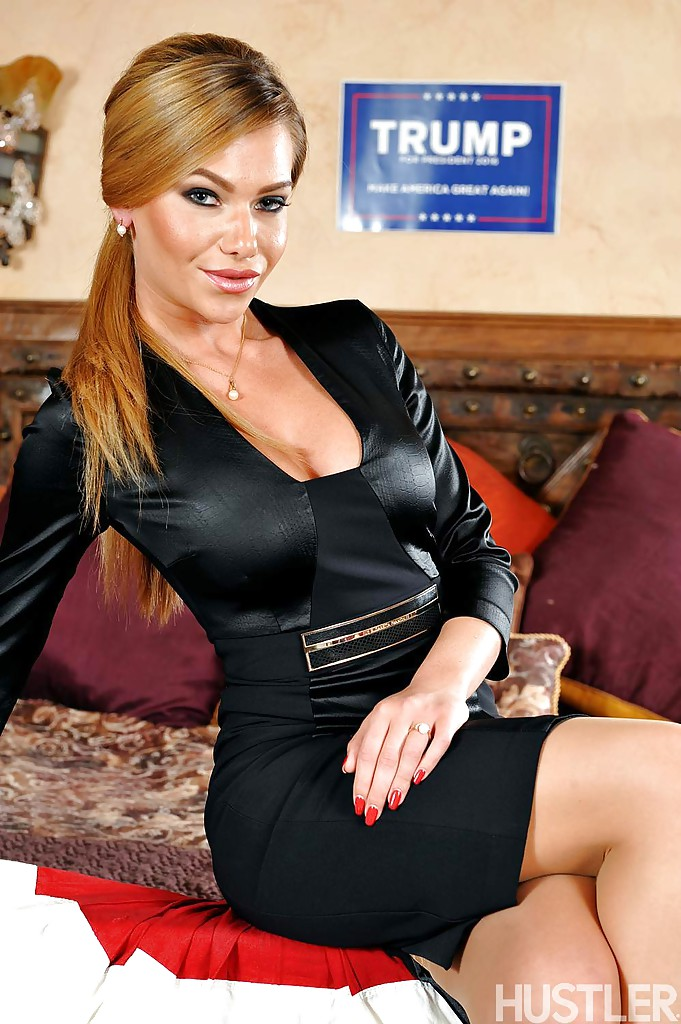 Slim small titted euro girl kimberly in black stockings