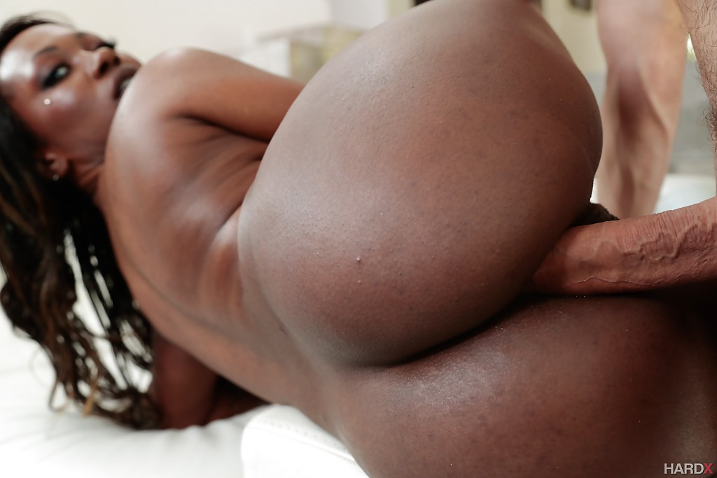 Black anal ebony ass