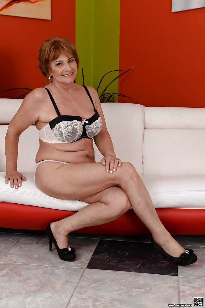 Opinion Naked grandma lingerie very talented