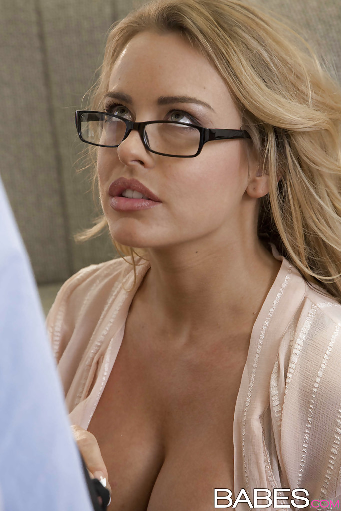 cum on naked women in glasses
