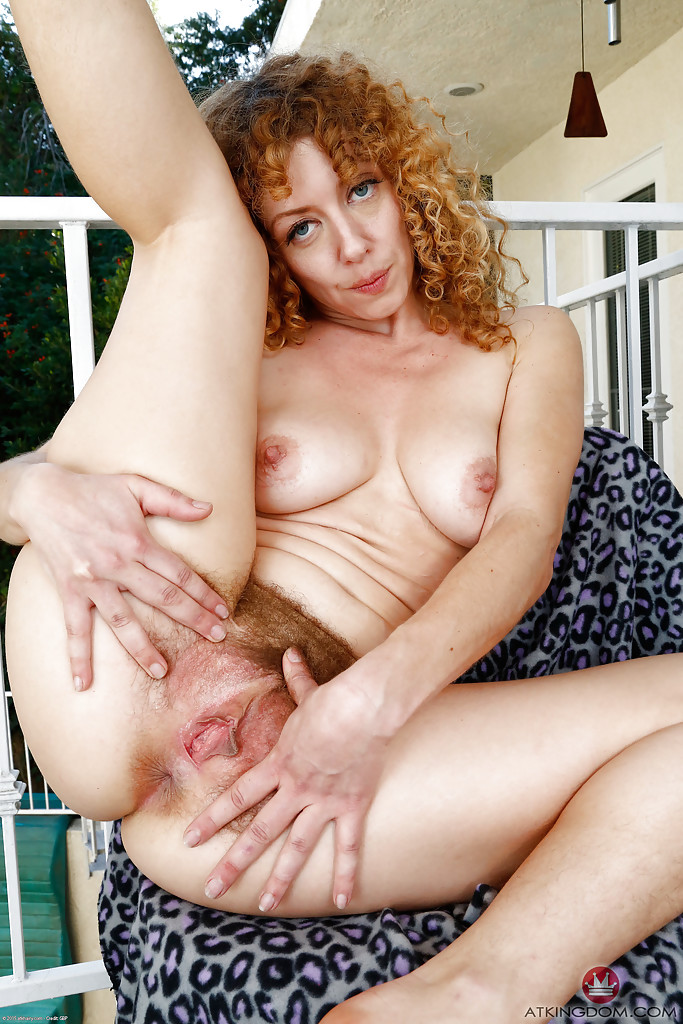 Red hairy mature idea))))